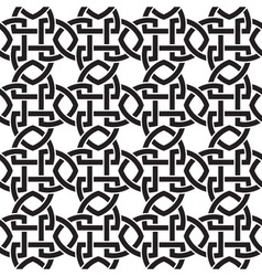 Chain mail of the links in form of crosswise vector