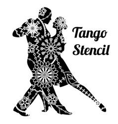 Tango stencil vector
