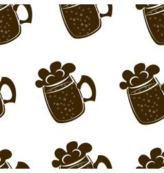 beer mug vector image vector image