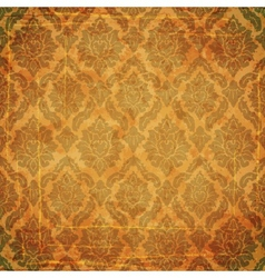 Damask ancient background vector