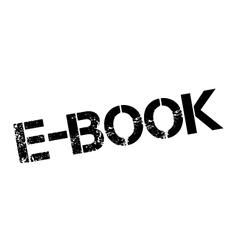 E-book rubber stamp vector