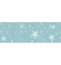Winter blizzard seamless vector