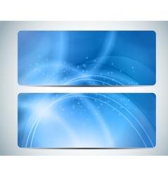 Abstract Aqua Background Card I vector image