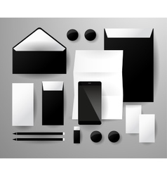 Abstract business set Corporate identity vector image vector image