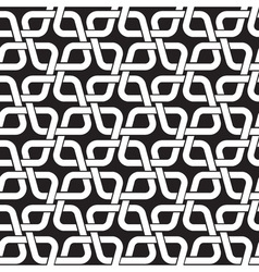 Chain mail of the links in form of rhombs celtic vector