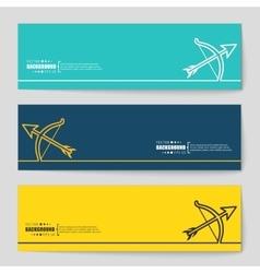 Concept banner background vector