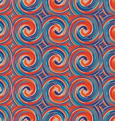 Pattern of colored tornado vector image vector image
