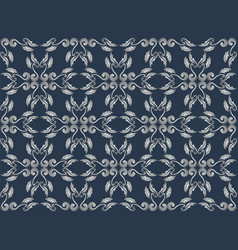 seamless old ornament vector image vector image