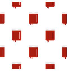 Blood transfusion pattern seamless vector