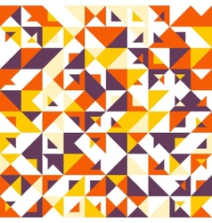 Seamless geometric vintage pattern with vector