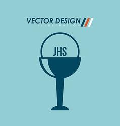Catholic icon design vector