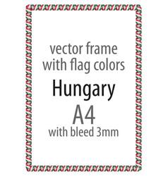 Flag v12 hungary vector