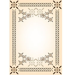 frame template vector image