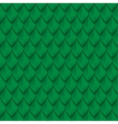 Green dragon scales seamless background texture vector image