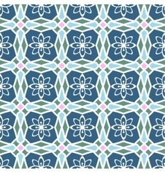 Seamless multicolor pattern vector image