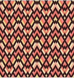 Tribal multicolored pattern vector