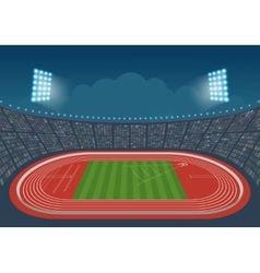 Olympic stadium for competitions vector