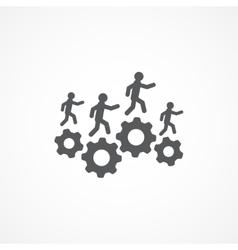 Resources icon vector