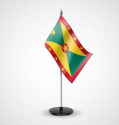 Table flag of grenada vector