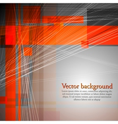 Abstract concept design vector image vector image
