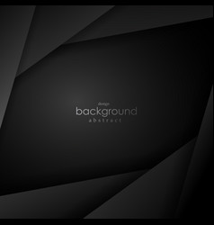 black and grey background square angle vector image vector image
