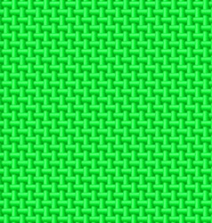 Green cloth texture vector image vector image