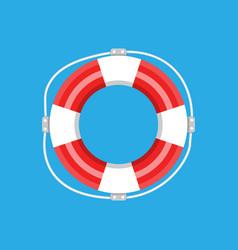 Lifebuoy isolated vector