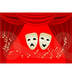 musical theatre vector image vector image