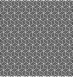 Seamless geometric op art texture vector
