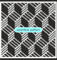 seamless patterns with halftone dots 6 vector image