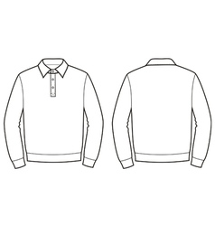 Polo jumper vector