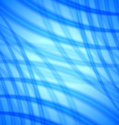 Abstract background with soft blue lines vector