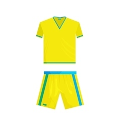 Football uniform icon cartoon style vector image