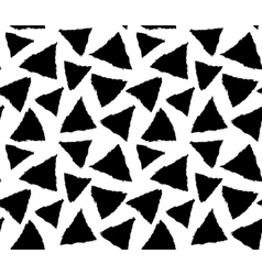 Inky triangles vector