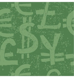 hand drawn money wallpapers vector image vector image