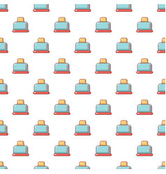 Steal toaster pattern seamless vector