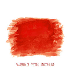 Bloody red watercolor texture background vector