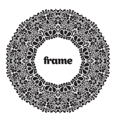 Frame ornament vector
