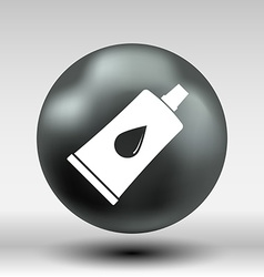 Glue icon button logo symbol concept vector