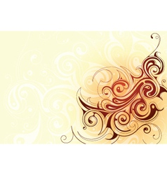 Abstract tattoo elements vector image vector image