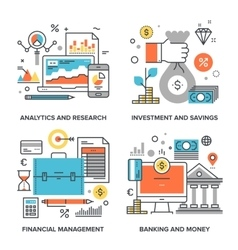 Business and Finance vector image vector image