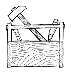 toolbox vector image