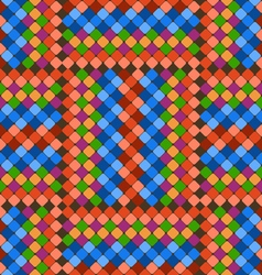 Pattern color tiles vector