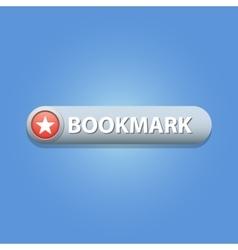 Bookmark button vector