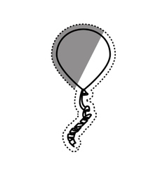Decorative birthday balloons vector