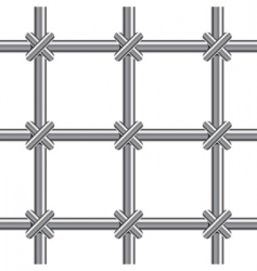 metallic bars vector image