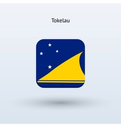 Tokelau flag icon vector