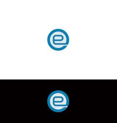 E logo vector