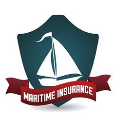 maritime design vector image