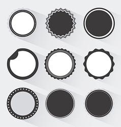 sun faces design vector image